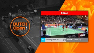 Robin Tabeling & Selena Piek vs Chris Adcock & Gabby Adcock - Dutch Open 2019 XD F