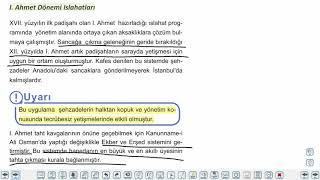 Eğitim Vadisi TYT Tarih 10.Föy Dünya Gücü; Osmanlı Devleti - 2 Konu Anlatım Videoları