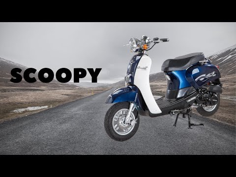 Xe Máy 50cc Scoopy Việt Thái Vẻ Ngoài Cổ Điển Gây Nghiện | THẾ GIỚI XE 50CC