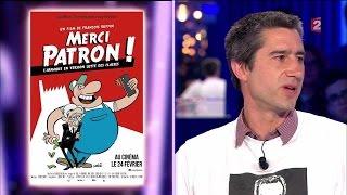François Ruffin - On n'est pas couché 16 avril 2016 #ONPC