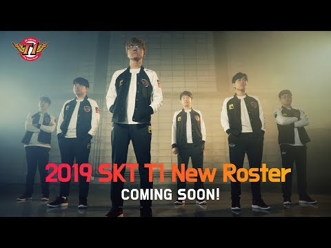 2019 SKT T1 全新成員 預告影片