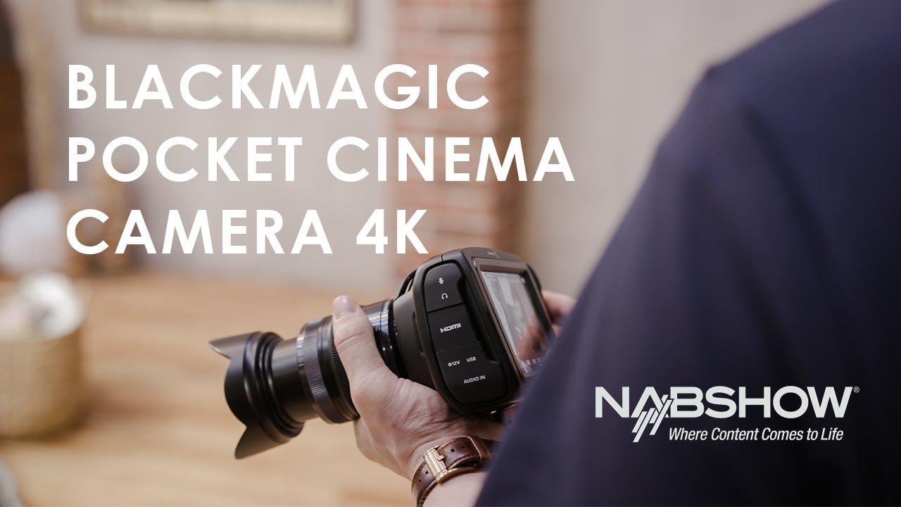 Blackmagic Pocket Cinema Camera 4K - Body Only