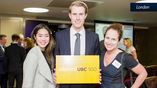 Celebrating the Close of alumni UBC 100: Year-in-Review Video