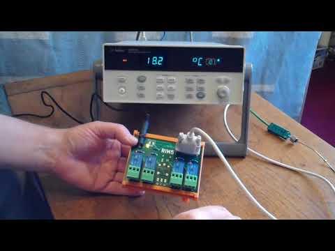 RIM5 - A relay module for Agilent / Keysight dataloggers