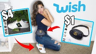 I Bought FAKE Gucci From Wish!!!