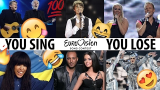 If You Sing, You LOSE: Eurovision Song Contest