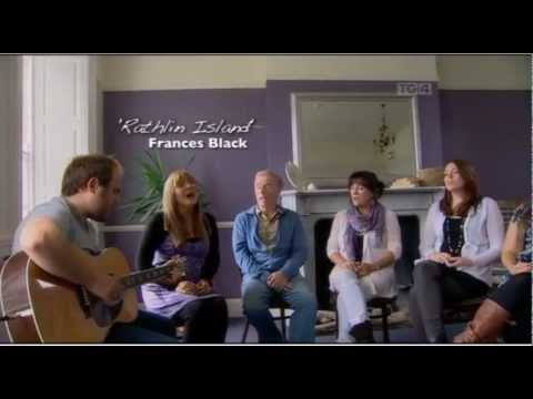 Still from the Frances Black and Family Rathlin Island  video