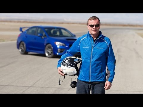 WRC Champion Tommi Mäkinen Flogs The 2015 Subaru WRX STI: Video