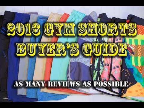 CrossFit/Training/Gym Shorts Buyer's Guide for Men – Best Fitness Menswear