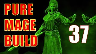 Skyrim Pure Mage Walkthrough NO WEAPONS NO ARMOR #37 - Valthume (Alteration Ritual Spell) [2/2]
