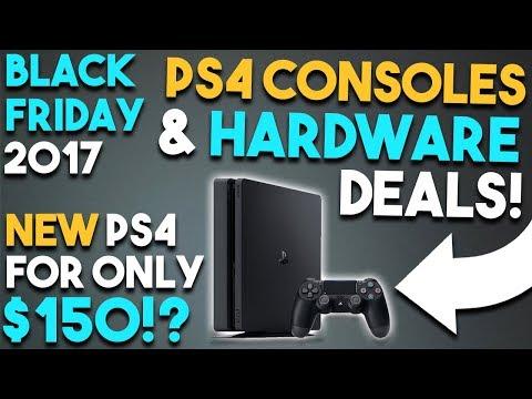 BEST PS4 CONSOLES & HARDWARE Black Friday Deals! (Playstation 4 Deals Black Friday 2017)