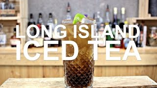 Long Island Iced Tea Cocktail Recipe - SO BOOZY!!