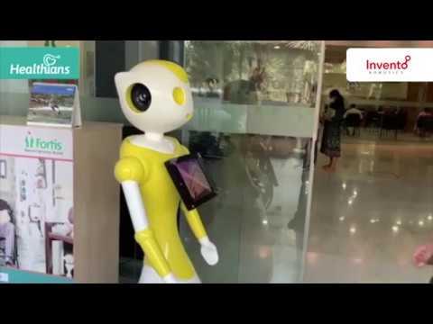 Healthians Robots Screening for COVID-19