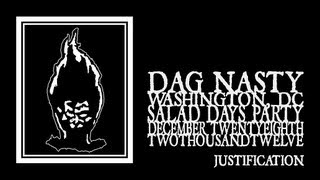 Dag  Nasty - Justification (Black Cat 2012) 720p