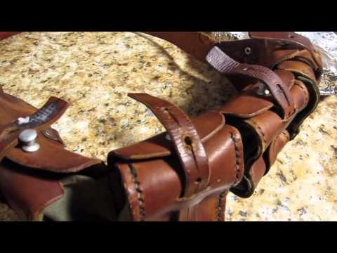 Video leather conditioning the natural way