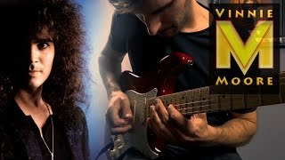 Vinnie Moore - As Time Slips By (Guitar Cover)