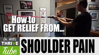 5 Exercises To Repair and Rehab Your Shoulder Pain