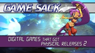 Digital Games that got Physical Releases 2 - Game Sack