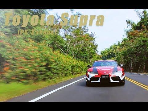 The iPE exhaust for GR Supra MK V
