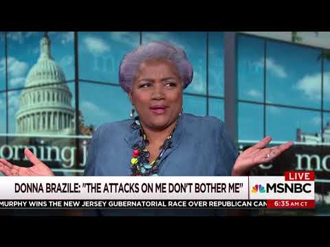 Willie Geist interrogates Donna Brazile over her 'rigged' primary claims in book