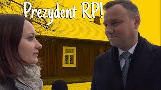 Wywiad z Prezydentem Andrzejem Dudą dla Synaj.tv
