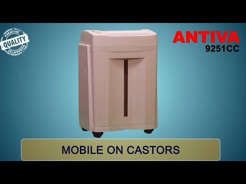 Antiva 9251 CC  Premium Paper Shredder