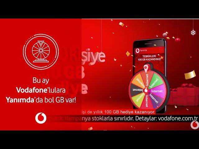 Bu ay Vodafone'lulara Yanımda'da bol GB var!