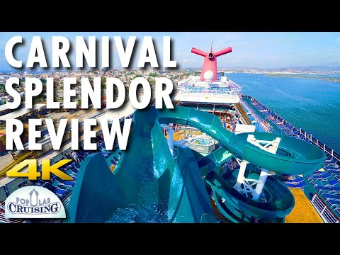Carnival Splendor Tour & Review ~ Carnival Cruise Line ~ Cruise Ship Tour & Review [4K Ultra HD]