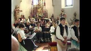 preview picture of video 'Tamburica Uzlop - Jubilarna maša- 50 ljet-Jahre / Jubiläumsmesse 09.04.12'