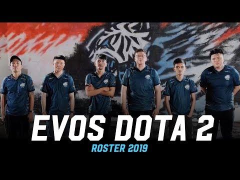 EVOS DOTA 2 ROSTER 2019 |  WE NEVER SURENDER