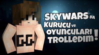 SkyWarsda Gamemode Açıp Troll komutlarıyla trolledik
