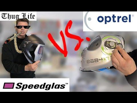 Optrel vs SpeedGlas - Automatik Schweissmasken Schweisshelme Vergleich