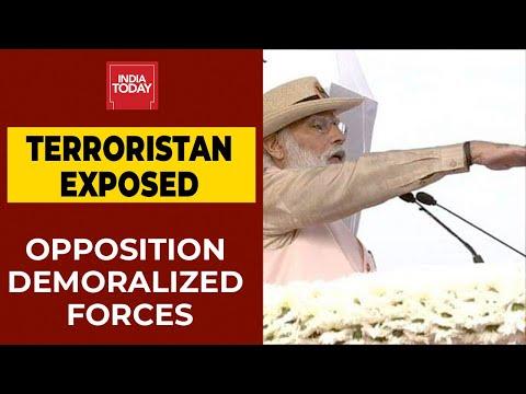 पाकिस्तान के प्रवेश को कुछ लोगों ने यहाँ प्रस्तुत किया, & # 39; पीएम मोदी ने पुलवामा हमले पर विपक्ष की खिंचाई की