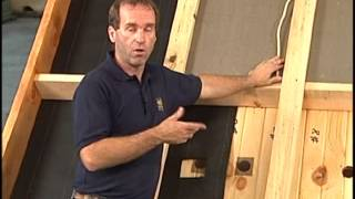Insulation And Wiring A Log Home Roofing System.