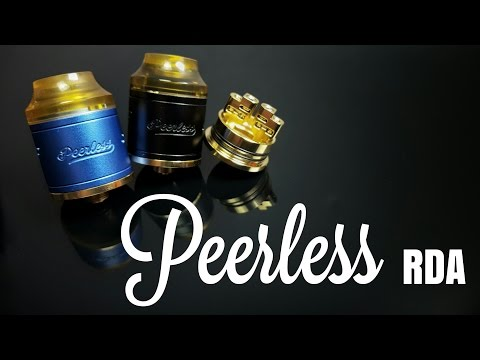 the Peerless RDA from Geekvape Review! Squonk friendly, cheap and GOOD