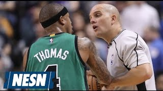 Tempers Flare During Celtics/Raptors, Isaiah Thomas Speaks Out