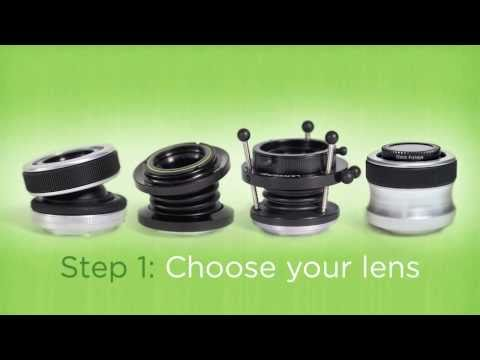 Lensbaby Creative Effects Camera Lens System - Official Tour