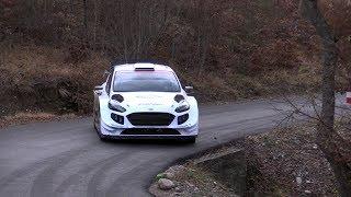 Rallye Monte Carlo 2019 Test Suninen Ford Fiesta WRC