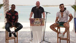 UFC 253: Пресс-конференция