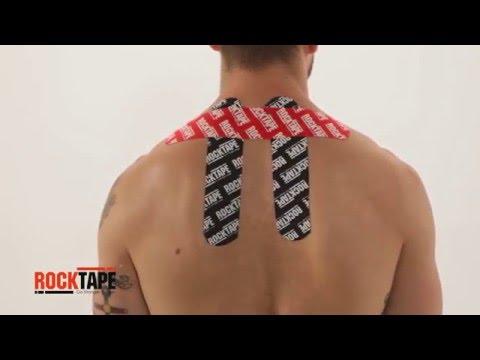 RockTape - Тейпирование шейного отдела позвоночника