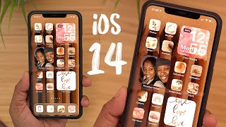 iOS 14 Homescreen Setup - Tips/Tricks + Favorite Custom Widgets!