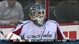 preview picture of video 'Line brawl, goalie fight in 3rd Washington Capitals vs Philadelphia Flyers 11/1/13 NHL Hockey.'