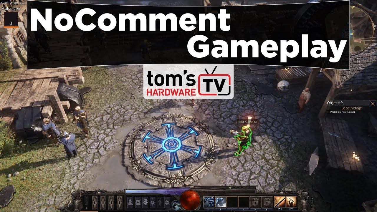 NoComment Gameplay : Wolcen, splendide Diablo-like français sous Cry Engine