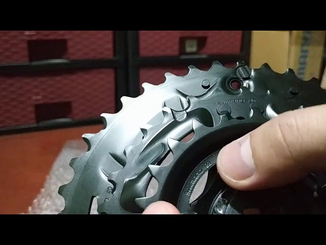 Видео Шатуны Shimano Altus FC-M2000-3 40x30x22 175 мм черные