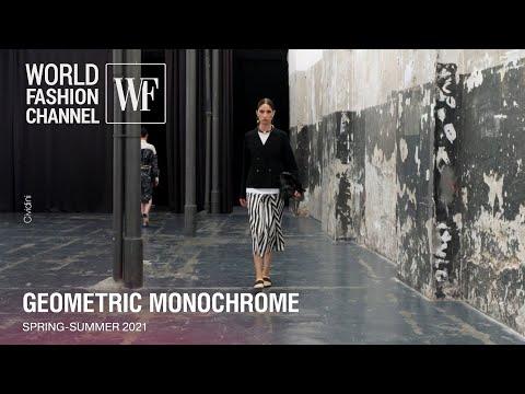 Geometric Monochrome I spring-summer 2021