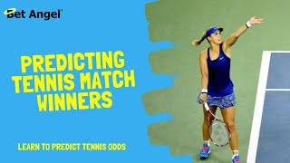 Tennis betting tips | How to predict the winner of a Tennis match
