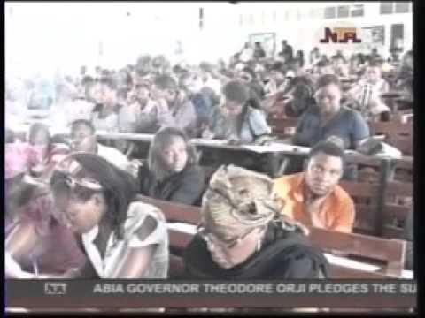 STUDENTS ON RAMPAGE, UNIVERSITY OF ABUJA