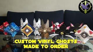 Customized Vinyl Destiny Ghosts