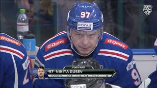 2019 Gagarin Cup, Lokomotiv 1 SKA 6, 15 March 2019 (Series 0-2)