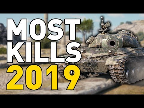 MOST FRAGS of 2019 in World of Tanks